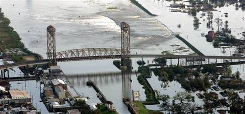 Bridge near Surekote Rd. breach