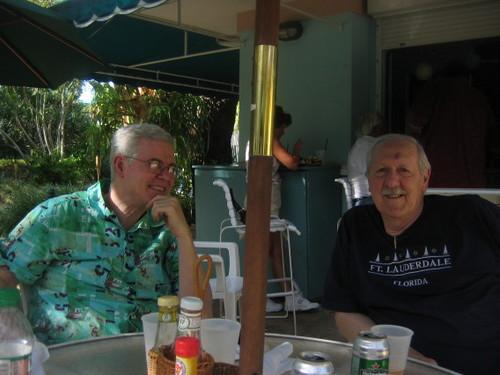 Daddy & Brian Aldiss
